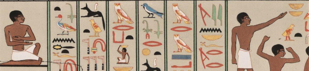 Carolins blogg – Egyptiska Hieroglyfer
