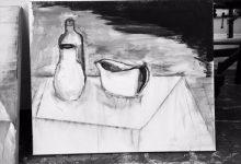 Stilleben i svartvitt