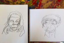 Porträtt av Erik och Raija