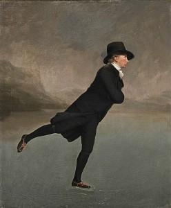 The Reverend Robert Walker 1755-1808 Skating on Duddingston Loch
